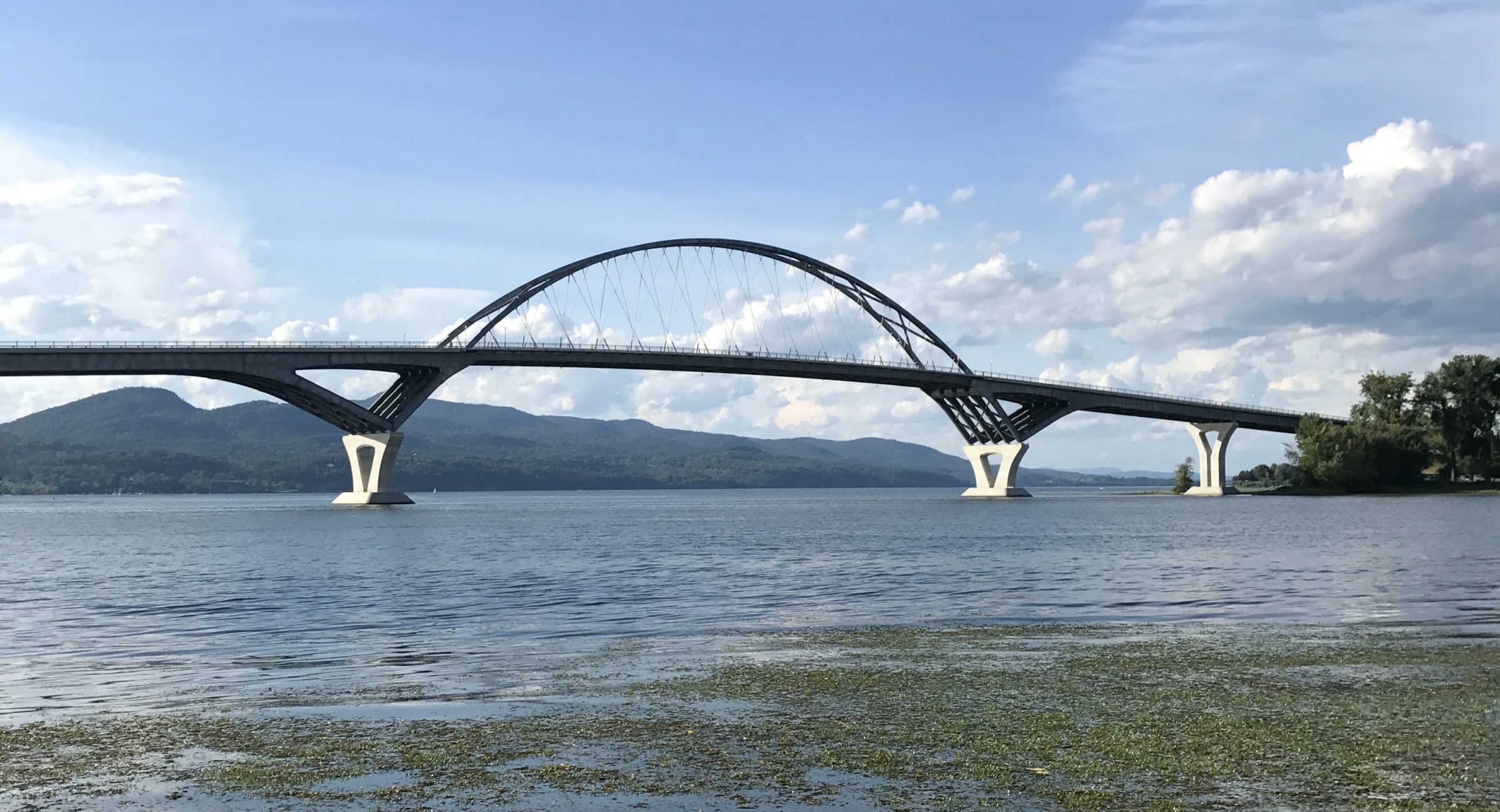 The Lake Champlain Bridge